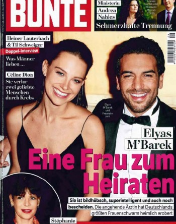 Titel Bunte Germany No.4 21.01.2016