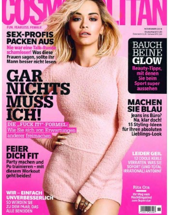 Titel Cosmopolitan Supplement Comso Beauty Germany No.11 2016