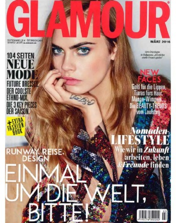 Titel Glamour Germany Nr. 3 2016