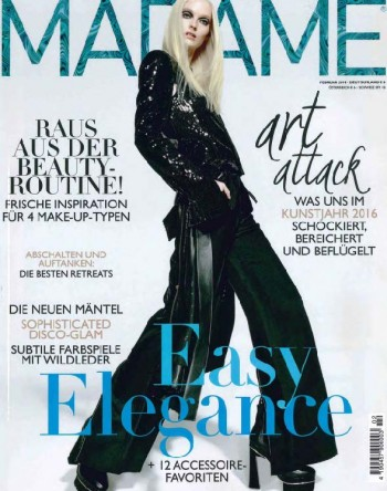 Titel Madame Germany No.2 2016