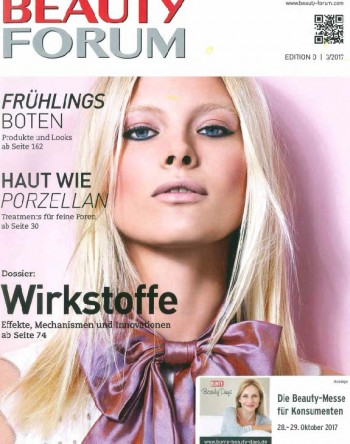Titel Beauty Forum Germany No.3 2017