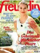 Titel Freundin Nr.9 9.4.2014