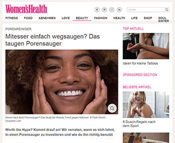 womens health mitesser